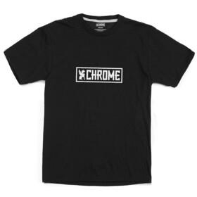 Chrome Horizontal Border Tee, negro/blanco